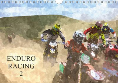 ENDURO RACING 2 (Wall Calendar 2019 DIN A4 Landscape), ron eccles