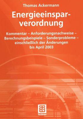 Energieeinsparverordnung, Thomas Ackermann