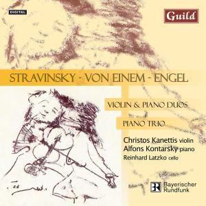 Engel:Kammermusik, Alfons Kontarsky,Reinhard Latzko Christos Kanettis