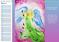Engelhafter Geburtstagskalender (Tischkalender 2019 DIN A5 quer) - Produktdetailbild 3