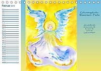 Engelhafter Geburtstagskalender (Tischkalender 2019 DIN A5 quer) - Produktdetailbild 2