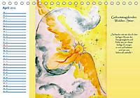 Engelhafter Geburtstagskalender (Tischkalender 2019 DIN A5 quer) - Produktdetailbild 4