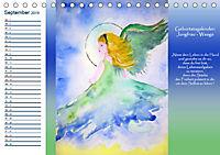 Engelhafter Geburtstagskalender (Tischkalender 2019 DIN A5 quer) - Produktdetailbild 9