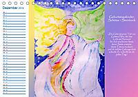 Engelhafter Geburtstagskalender (Tischkalender 2019 DIN A5 quer) - Produktdetailbild 12