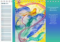 Engelhafter Geburtstagskalender (Tischkalender 2019 DIN A5 quer) - Produktdetailbild 1