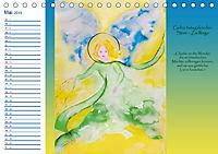 Engelhafter Geburtstagskalender (Tischkalender 2019 DIN A5 quer) - Produktdetailbild 5
