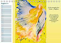 Engelhafter Geburtstagskalender (Tischkalender 2019 DIN A5 quer) - Produktdetailbild 8