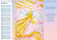 Engelhafter Geburtstagskalender (Tischkalender 2019 DIN A5 quer) - Produktdetailbild 10