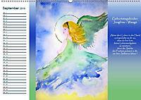 Engelhafter Geburtstagskalender (Wandkalender 2019 DIN A2 quer) - Produktdetailbild 9