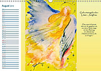 Engelhafter Geburtstagskalender (Wandkalender 2019 DIN A3 quer) - Produktdetailbild 8