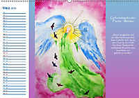 Engelhafter Geburtstagskalender (Wandkalender 2019 DIN A2 quer) - Produktdetailbild 3