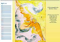 Engelhafter Geburtstagskalender (Wandkalender 2019 DIN A2 quer) - Produktdetailbild 4