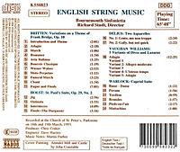 Engl.Musik Für Streicher - Produktdetailbild 1