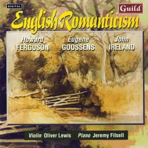 Engl.Violinsonaten, Jeremy Filsell - Piano Oliver Lewis - Violin