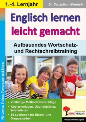 Englisch lernen leicht gemacht, m. CD-ROM, Sebastian Weinrich