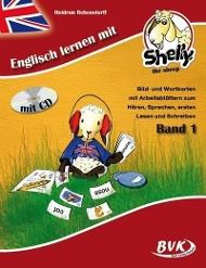 Englisch lernen mit Shelly, the sheep, m. Audio-CD
