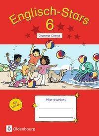 Englisch-Stars: 6. Schuljahr - Übungsheft Grammar Comics - Elizabeth Hine |