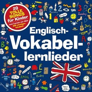 Englisch-Vokabellernlieder - 20 tolle Songs für Kinder, Marie & Finn