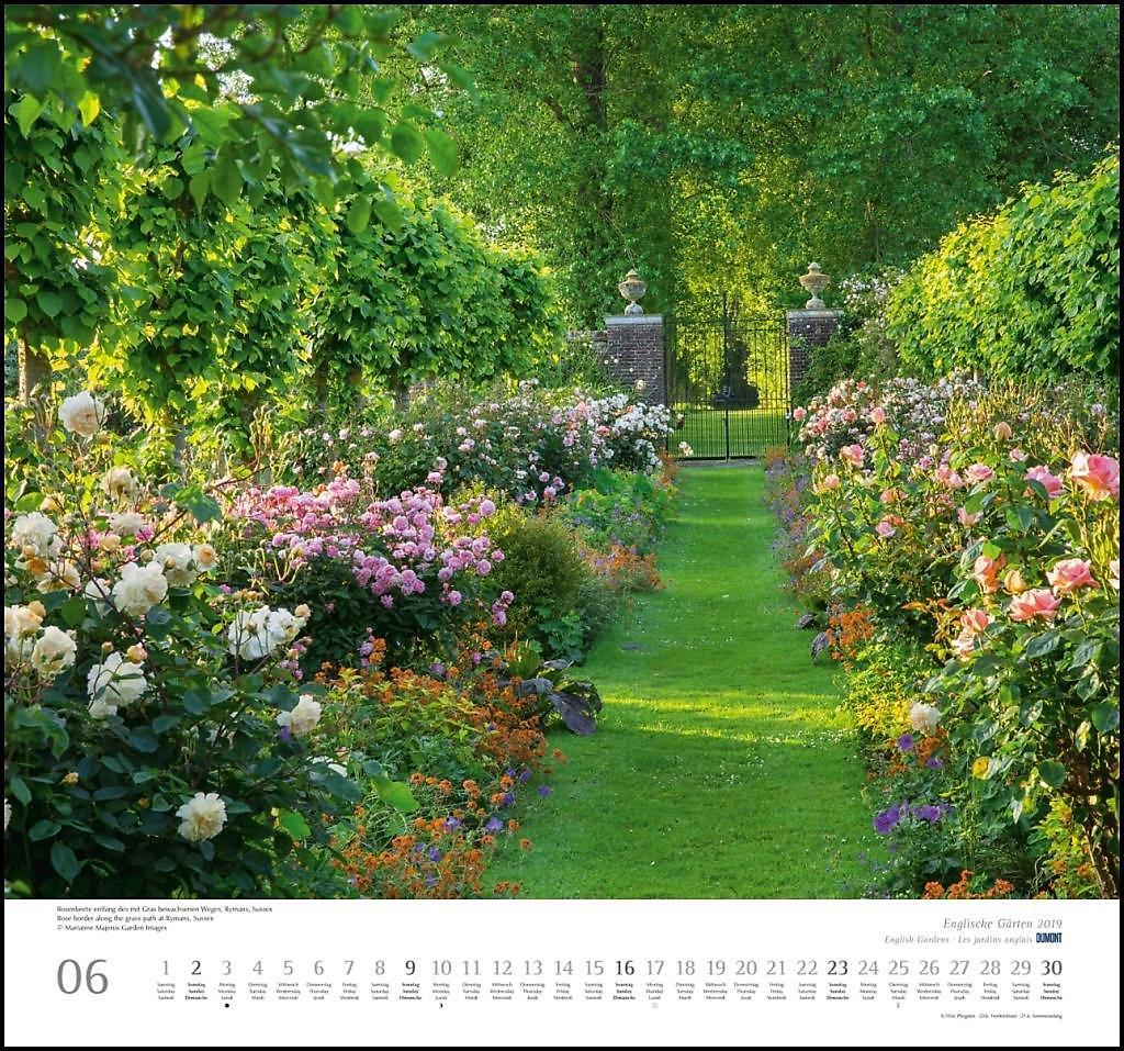 Englische Gärten 2019 Kalender Bei Weltbildde Bestellen