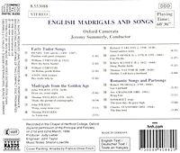 Englische Madrigale Und Lieder - Produktdetailbild 1
