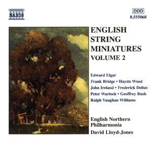 Englische Miniaturen für Streicher Vol. 2, David Lloyd-Jones, English Nort