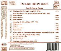 Englische Orgelmusik Vol. 1 - Produktdetailbild 1