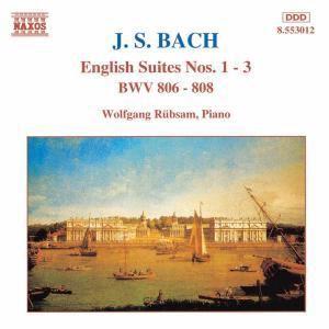 Englische Suiten 1-3, Wolfgang Rübsam