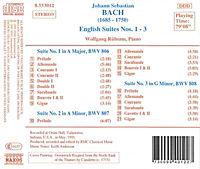 Englische Suiten 1-3 - Produktdetailbild 1