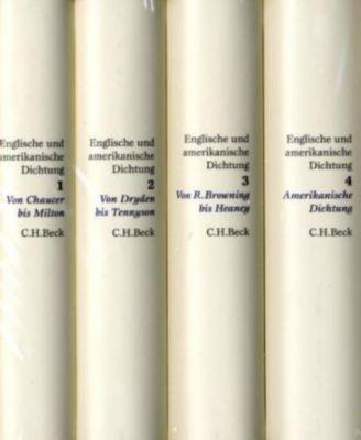 Englische und amerikanische Dichtung, 4 Bde.