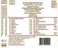 Englisches Festival*Naxos - Produktdetailbild 1