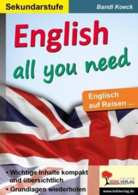 English all you need, Bandi Koeck