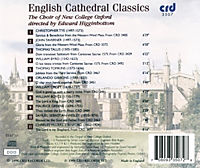 English Cathedral Classics - Produktdetailbild 1