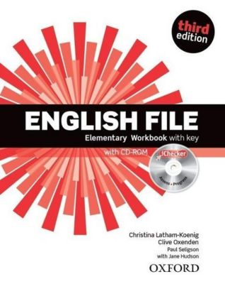 English File, Elementary, Third Edition: Workbook with Key & iChecker CD-ROM