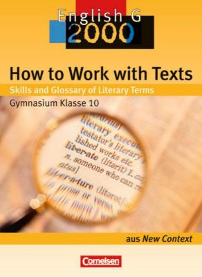 English G 2000, How to Work with Texts (Gymnasium Klasse 10)