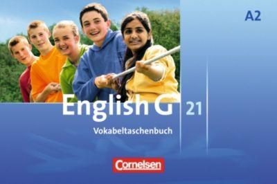 English G 21, Ausgabe A: Bd.2 6. Schuljahr, Vokabeltaschenbuch