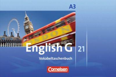 English G 21, Ausgabe A: Bd.3 7. Schuljahr, Vokabeltaschenbuch