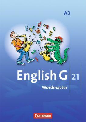 English G 21, Ausgabe A: Bd.3 7. Schuljahr, Wordmaster
