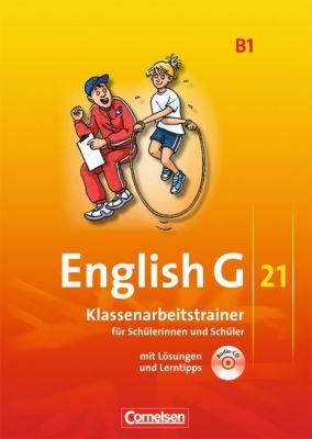English G 21, Ausgabe B: Bd.1 5. Schuljahr, Klassenarbeitstrainer m. Audio-CD