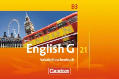 English G 21, Ausgabe B: Bd.3 7. Schuljahr, Vokabeltaschenbuch, Uwe Tröger