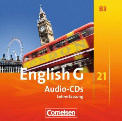 English G 21, Ausgabe B: Bd.3 7. Schuljahr, 3 Audio-CDs (Vollfassung)