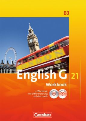 English G 21, Ausgabe B: Bd.3 7. Schuljahr, Workbook m. CD-ROM (e-Workbook) u. Audio-CD, Susan Abbey, Jennifer Seidl