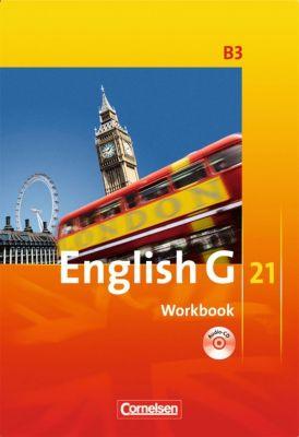 English G 21, Ausgabe B: Bd.3 7. Schuljahr, Workbook mit Audios online, Jennifer Seidl