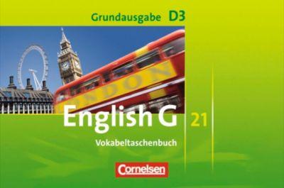 English G 21, Ausgabe D: Bd.3 7. Schuljahr, Vokabeltaschenbuch, Grundausgabe