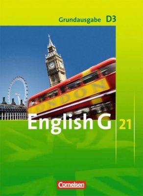 English G 21, Ausgabe D: Bd.3 7. Schuljahr, Schülerbuch, Grundausgabe