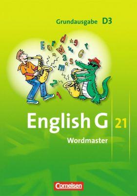 English G 21, Ausgabe D: Bd.3 7. Schuljahr, Wordmaster; Grundausgabe