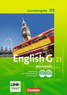English G 21, Ausgabe D: Bd.3 7. Schuljahr, Workbook m. CD-ROM (e-Workbook) u. Audio-CD, Grundausgabe, Jennifer Seidl