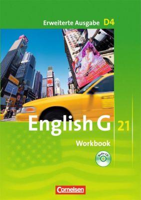 English G 21, Ausgabe D: Bd.4 8. Schuljahr, Workbook, Erweiterte Ausgabe