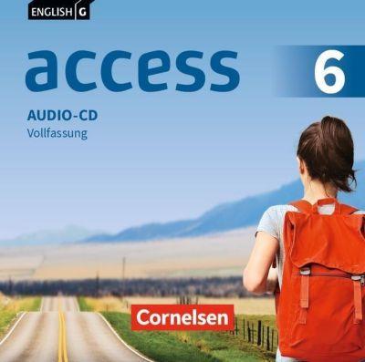 English G Access - Allgemeine Ausgabe: .6 10. Schuljahr, Audio-CDs