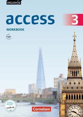 English G Access - Allgemeine Ausgabe: Bd.3 7. Schuljahr, Workbook mit Audios online, Jennifer Seidl