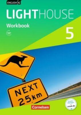 English G Lighthouse, Allgemeine Ausgabe: Bd.5 9. Schuljahr, Workbook mit Audios online, Gwen Berwick, Sydney Thorne